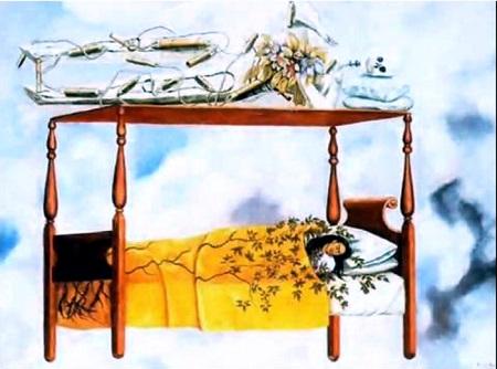 Der Traum_Das Bett